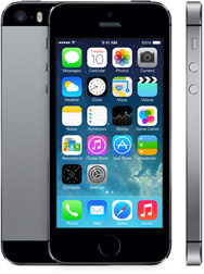iPhone 5S space gray