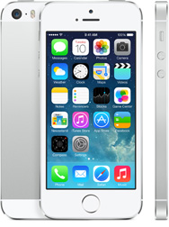 iPhone 5S silver white